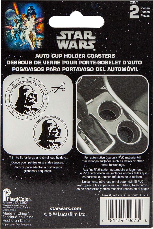 "Amazon Co Jp ¹ターウォーズ Àースベイダー ³ースター 2枚パック Star Wars Darth Vader Automotive Cup Holder Coasters 2 Pack ĸ¦è¡Œè¼¸å…¥å"" È»Š Ðイク"