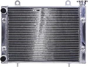 New All Aluminum High Performance Radiator for Polaris Rangers 400, 500, 800, 900