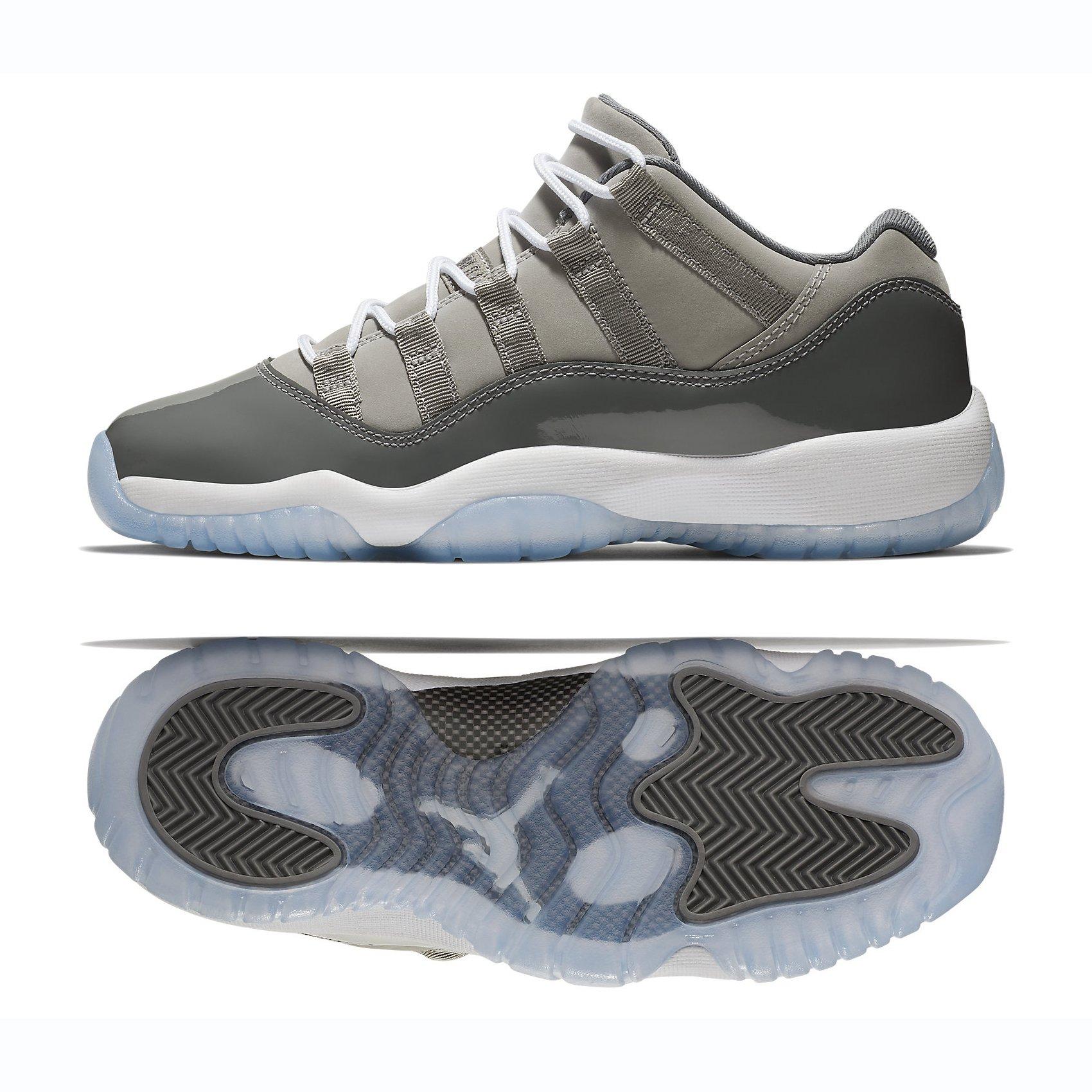 Nike Air Jordam 11 Rtero Low GS Kids Medium Grey 528896-003 (Size: 4Y)