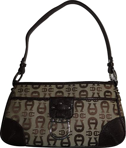 2ce3f08da7 Women s Etienne Aigner Purse Handbag Logo Core Collection Camel  Handbags   Amazon.com