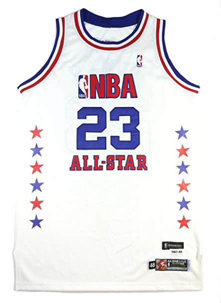 MICHAEL JORDAN 2003 GAME ISSUED PRO-CUT LAST ALL-STAR GAME JERSEY