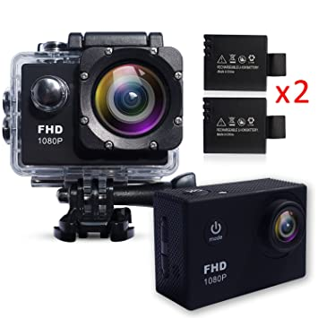 Action Camera Waterproof 30m Sport Camera Full HD 1080P 2.0 ...