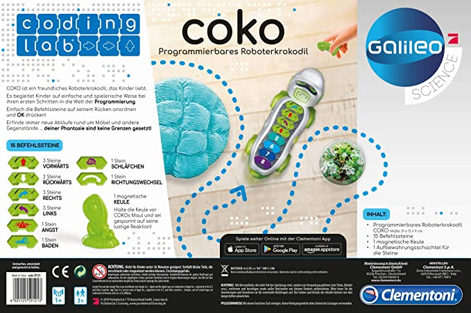 Amazon.es: Clementoni - Ciencia y Juego Coko (55334)