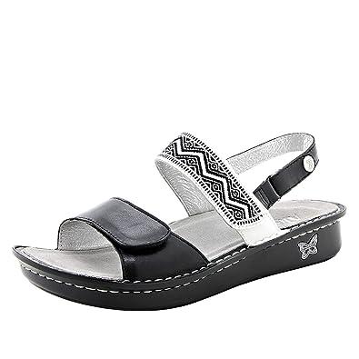 30669aae553bd8 Alegria Verona Womens Sandal Black 35 EU