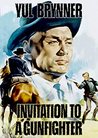 Amazon invitation to a gunfighter yul brynner janice rule invitation to a gunfighter stopboris Image collections