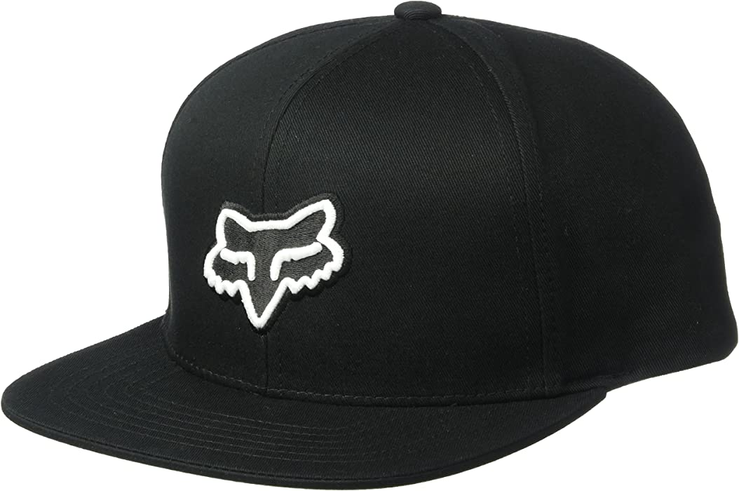 Amazon.com  Fox Men s Flat Bill Snapback Hat 7d363df2f903