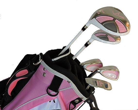 Amazon.com : Sephlin - Lady Jayde Pink Girls Golf Club Set ...