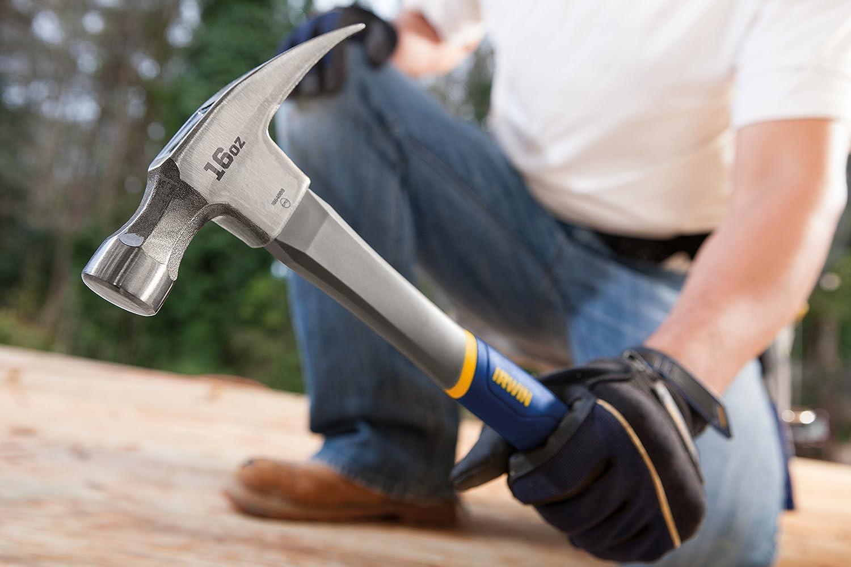 16/Oz Irwin Tools 1954889/Fiberglas Allgemeine Zwecke Claw Hammer 1954889