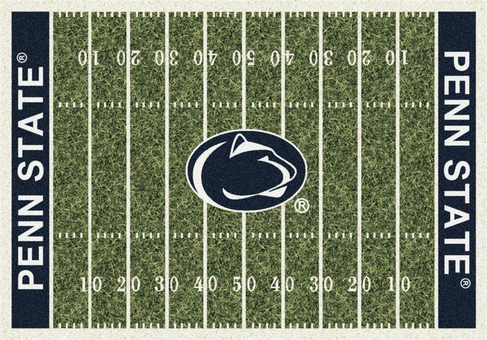 Milliken 4000018577 Penn State College Home Field Area Rug, 5'4'' x 7'8''