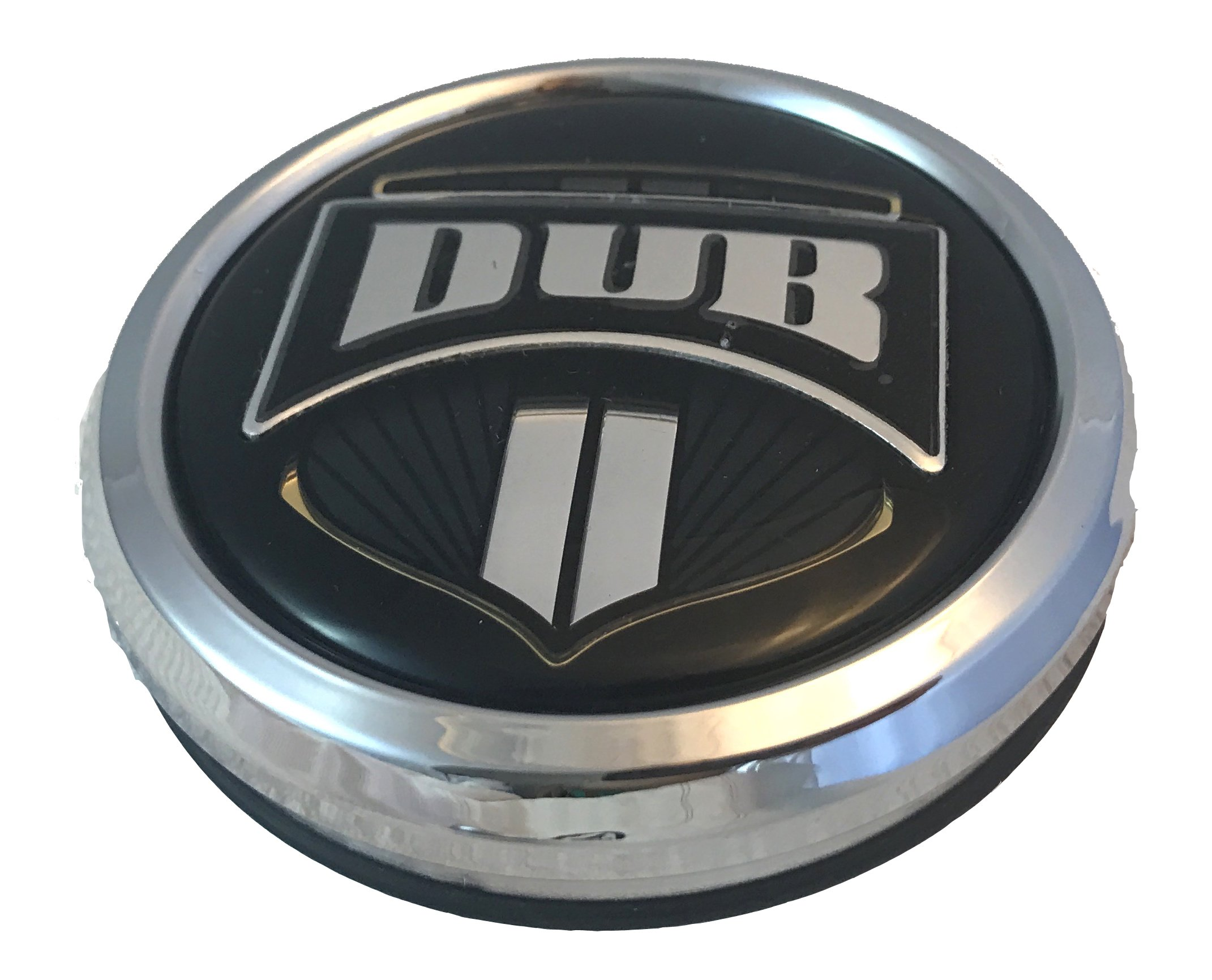 Dub Wheels 1003-07-04 Custom Center Cap Chrome (Set of 2)