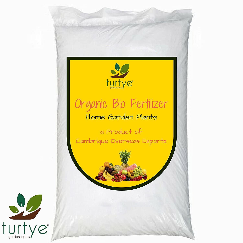 Turtye® Organic Bio-Fertilizer for Gardening - 5 Kg's - Rooftop/Terrace/Balcony Gardening Plants