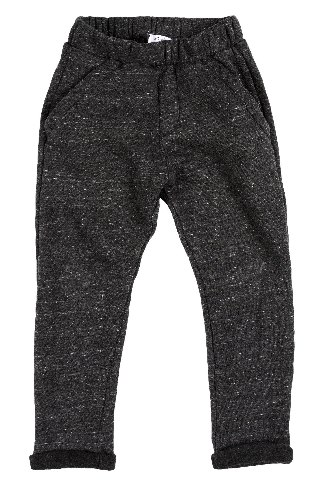 Joah Love Joss FLC Pant In Charcoal, 2