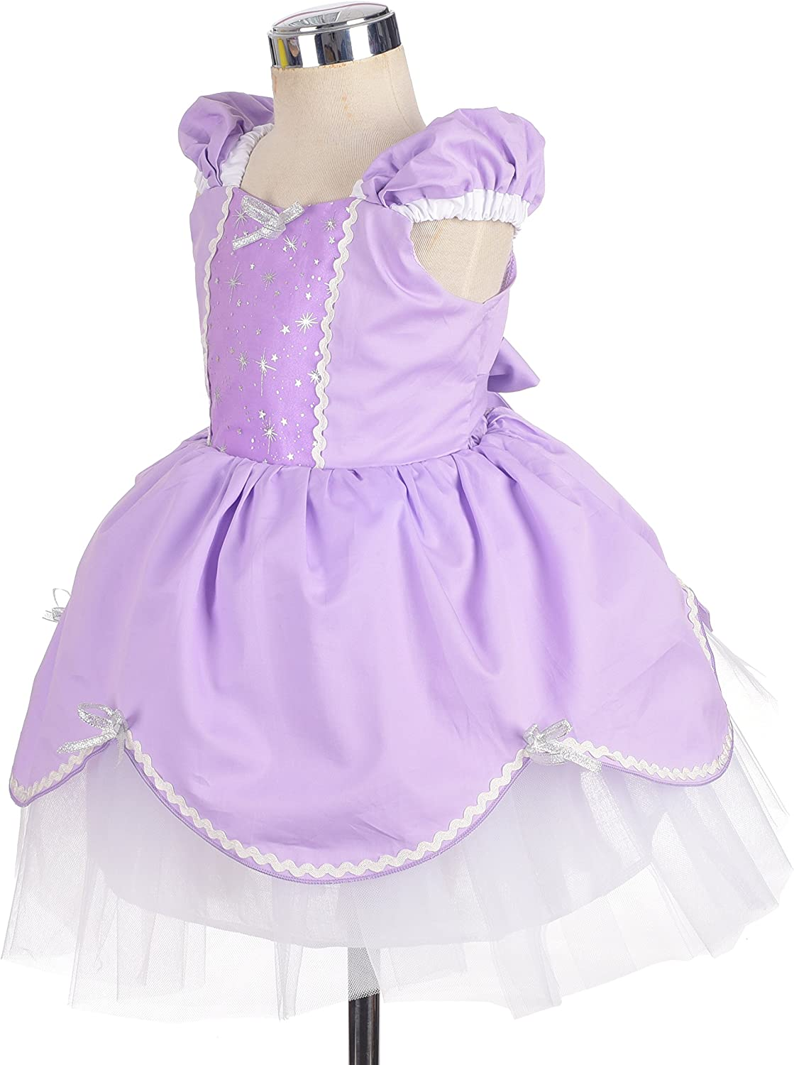 Lito Angels Girls Princess Cinderella Dress Costumes Summer Dress up Halloween Party Size 2-3 Years