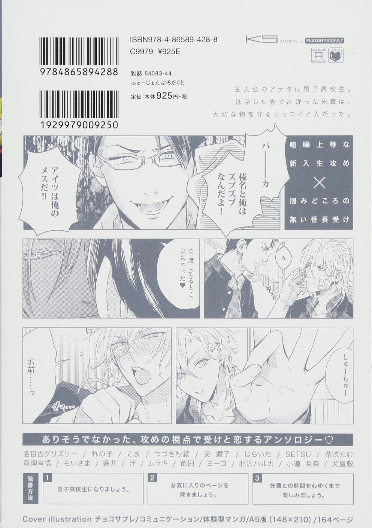 JAPAN Boys Love Anthology Comic Yankee Uke