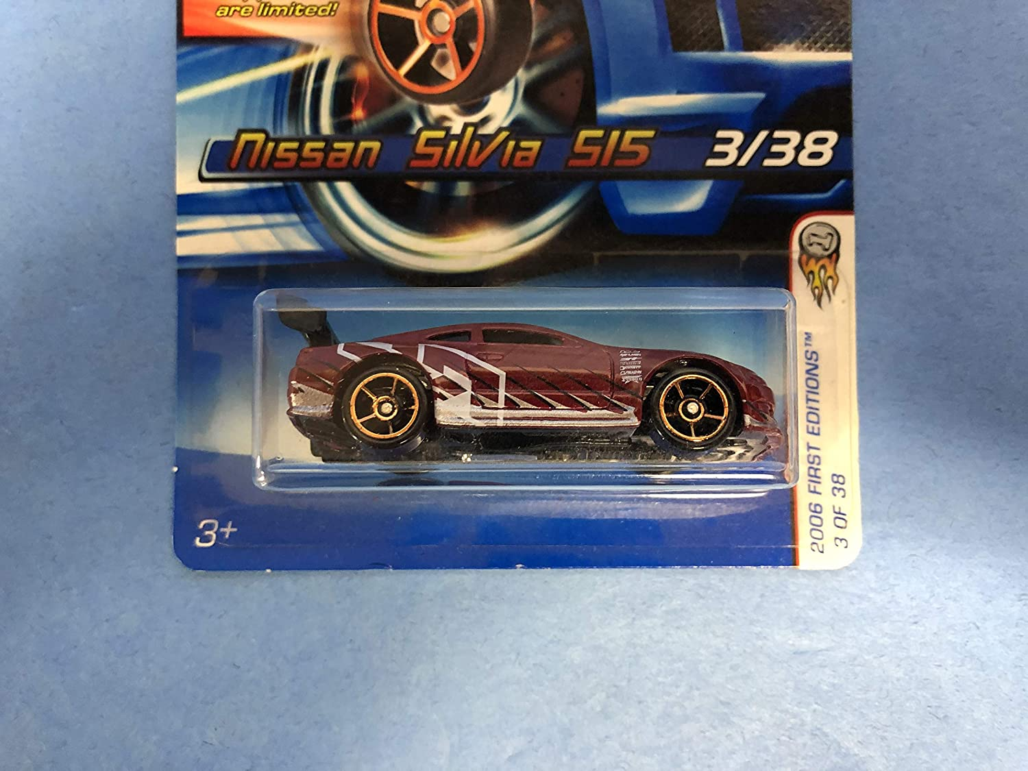 Nissan Silvia SI5 No. 003 Hot Wheels 2006 First Edition diecast 1/64 scale car