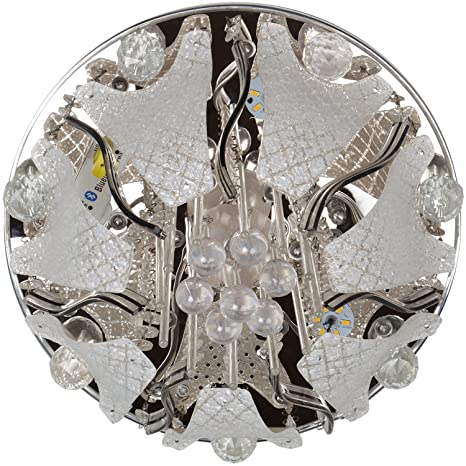 Buy New Feel Crystal Ceiling Led Jhumar with Speakers, Pendrive ...