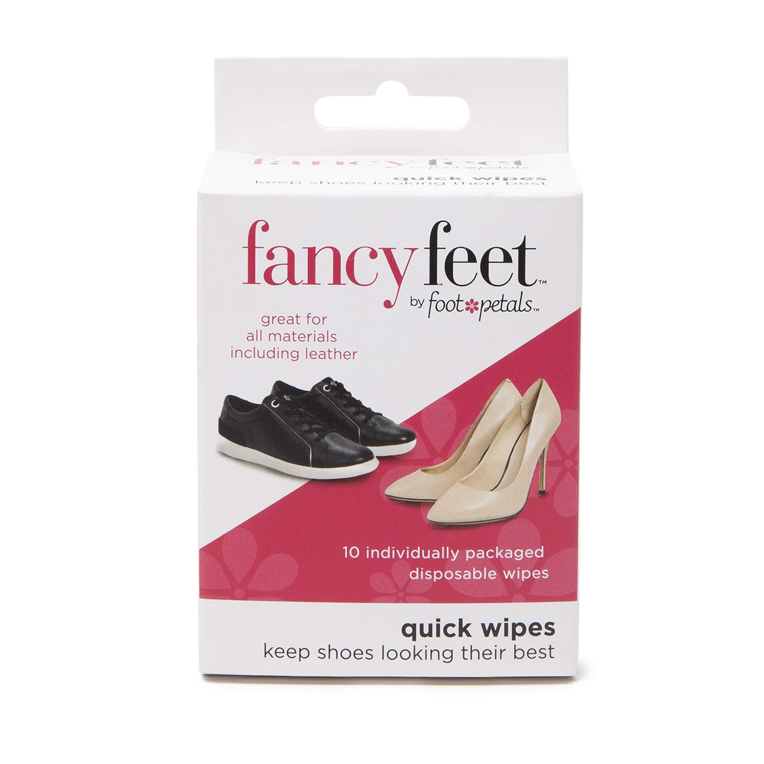Pies de lujo | Toallitas de limpieza de calzado premium | 10