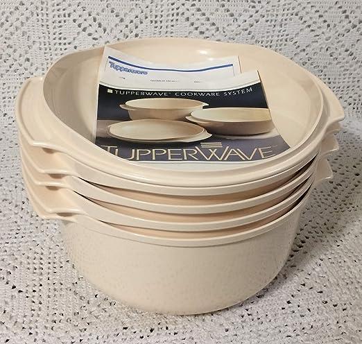 Tupperware - Juego de 5 utensilios de cocina apilables, color ...