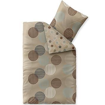 Aqua Textil Trend Fara Bettwäsche 2 Teilig 155x220 Baumwolle