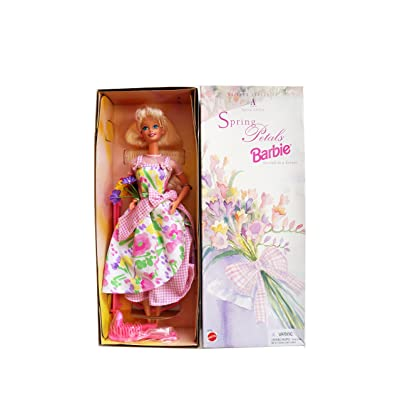 Mattel Avon Special Edition Spring Petals Barbie Doll Second in Series: Toys & Games