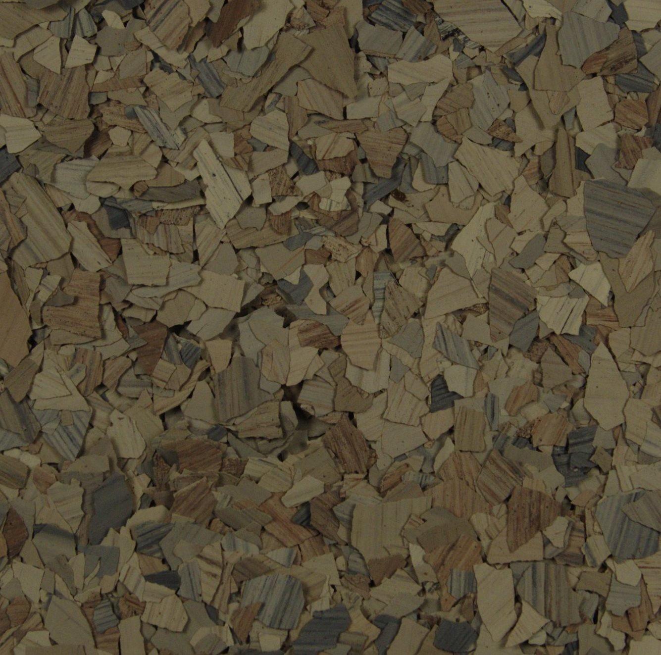 American Abrasive Supply, Vinyl Chip Blend Garnet (Stone) 1/4'', VCPGARNS