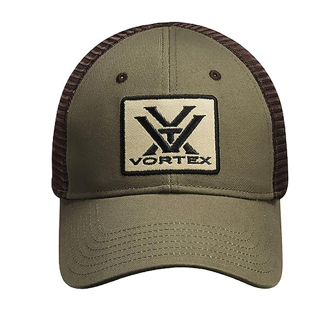 Amazon.com   Vortex Optics Green and Brown Mesh Baseball Cap   Sports    Outdoors 2703597a3e7