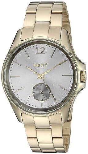 a89e7d220fa7 DKNY mujer de 36 mm tono dorado correa de acero y carcasa reloj analógico  de cuarzo ny2517  DKNY  Amazon.es  Relojes