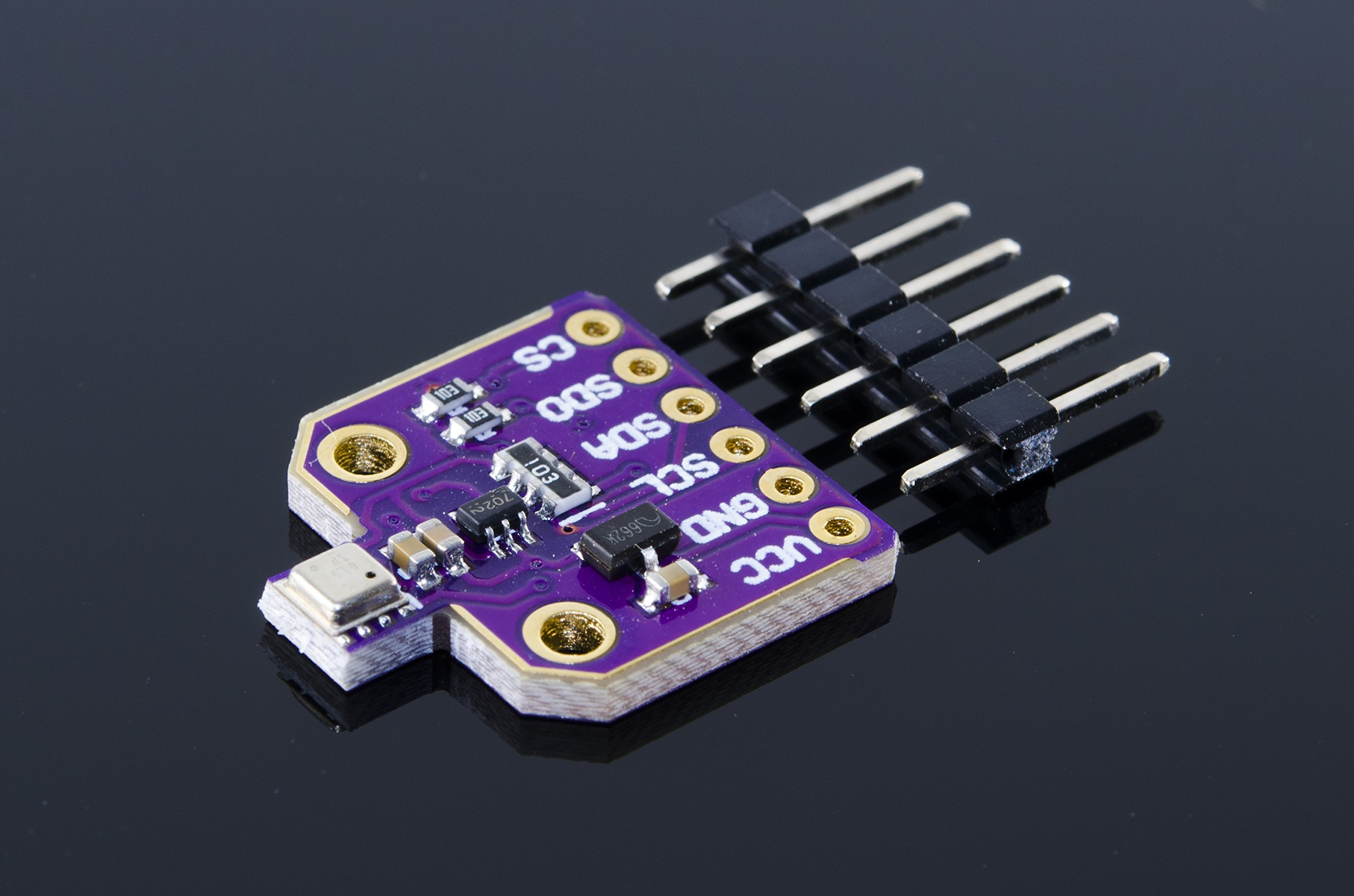 ACROBOTIC Temperature, Humidity, Pressure and Gas Sensor Breakout Board for Arduino Raspberry Pi ESP8266 BME-680 3~5VDC BME680