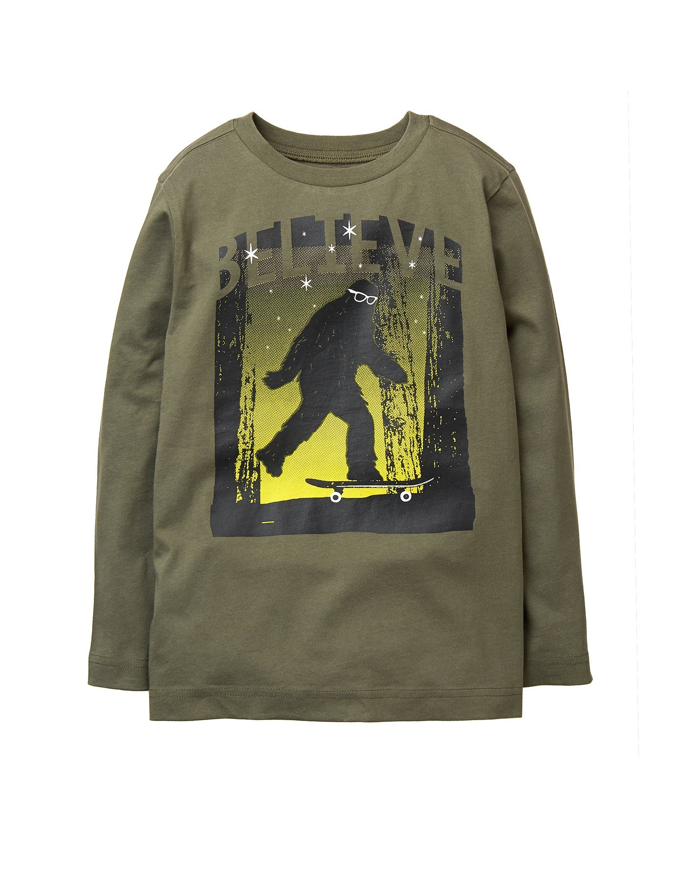 Crazy 8 Boys' Long-Sleeve Graphic Tee, Beetle, L