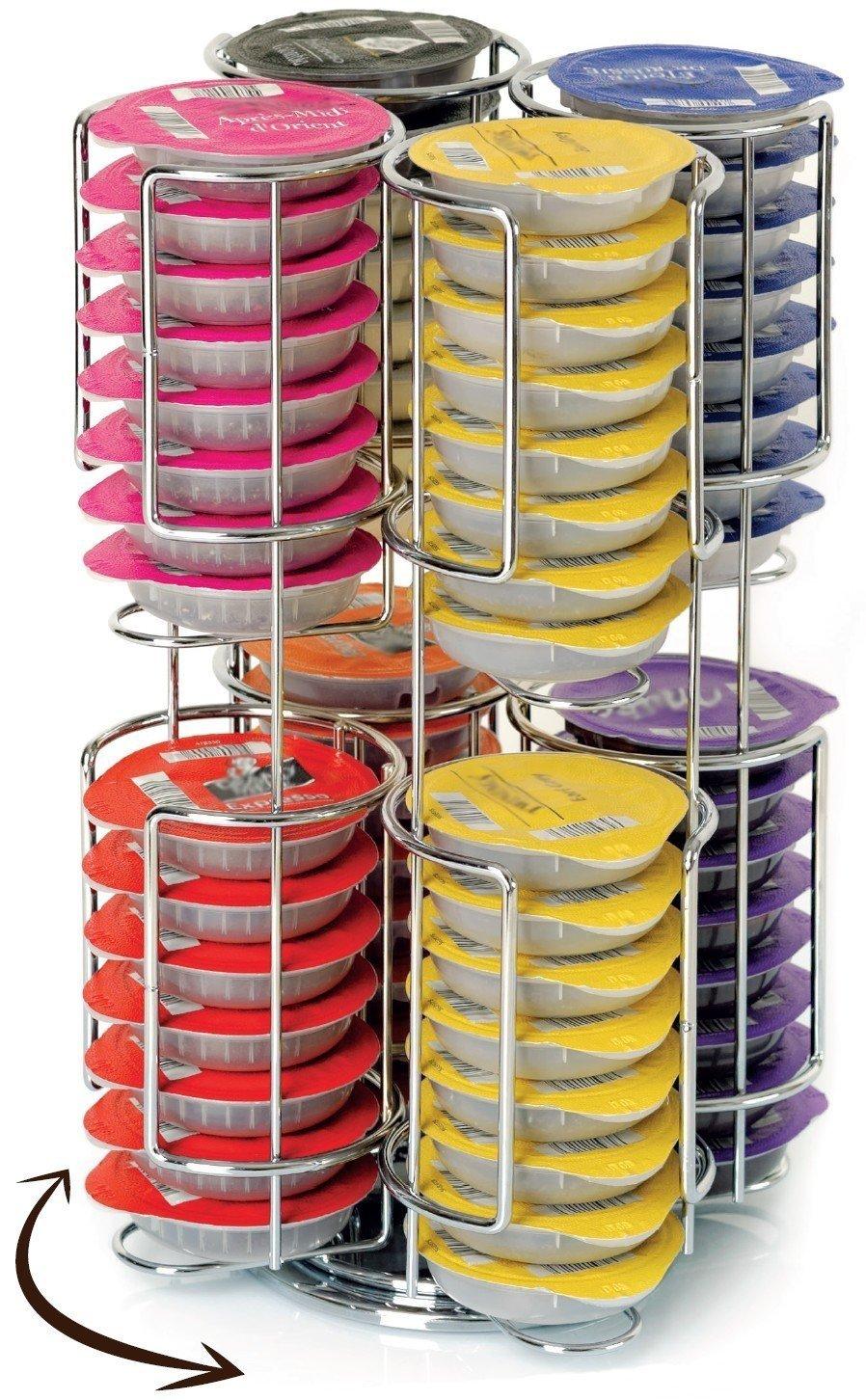 Herramienta para medir (Plata, Color blanco) 64 capsules by RIVENBERT: Amazon.es: Hogar