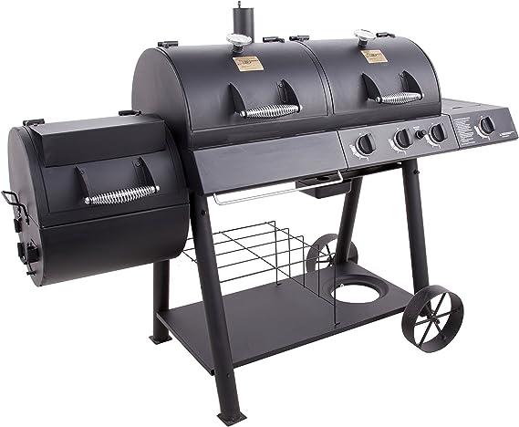 Oklahoma Joe's Charcoal/LP Gas/Smoker Combo