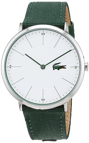 Lacoste Reloj Análogo clásico para Hombre de Cuarzo con Correa en Tela 2010913: Lacoste: Amazon.es: Relojes
