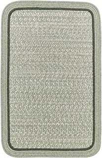 product image for Rhody Rug CC68R060X096S 5 x 8 ft. Casual Comfort Mistletoe Banded Braided Rug44; Rectangle