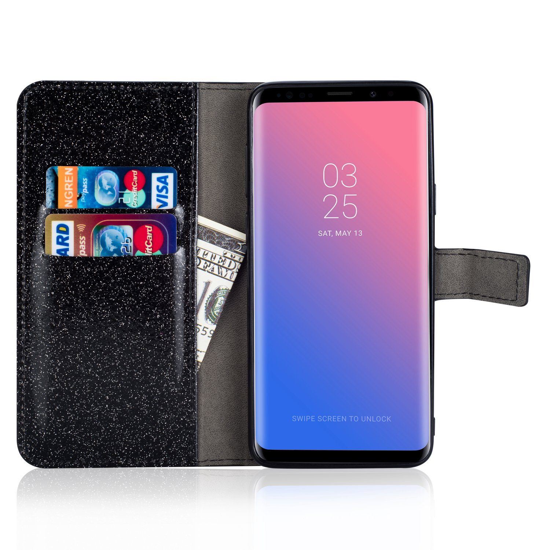 Artfeel Leder Brieftasche H/ülle f/ür Samsung Galaxy S9 Bling Glitzer Kristall Strass Flip Handyh/ülle mit Kartenhalter,Luxus Diamant Magnetverschluss Bookstyle Stand H/ülle-Funkeln Ros/égold
