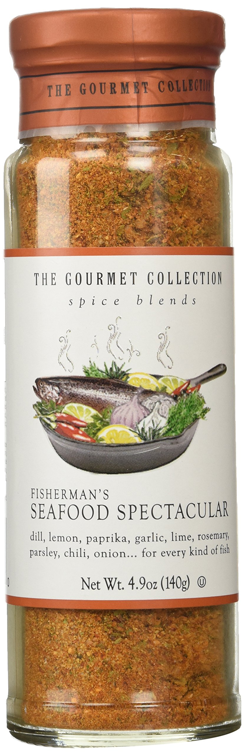 The Gourmet Collection Spice Blends, Fisherman's Seafood Spectacular