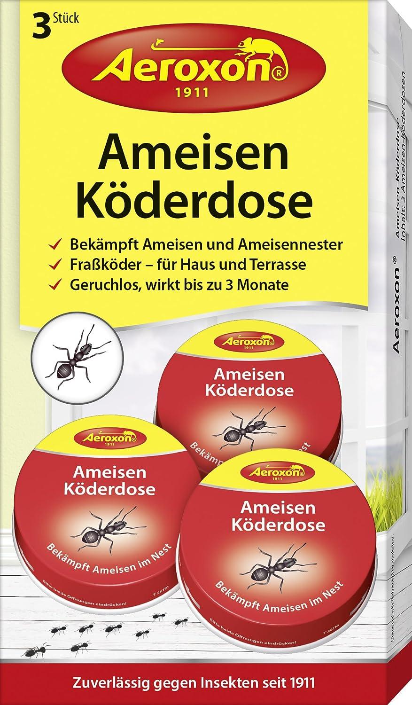 Aeroxon - Ameisen-Köder - 3er Pack - bekämpft Das Ganze Ameisennest Aeroxon Insect Control GmbH