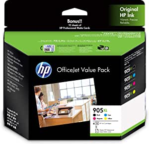 HP #905XL Ink Value Pack