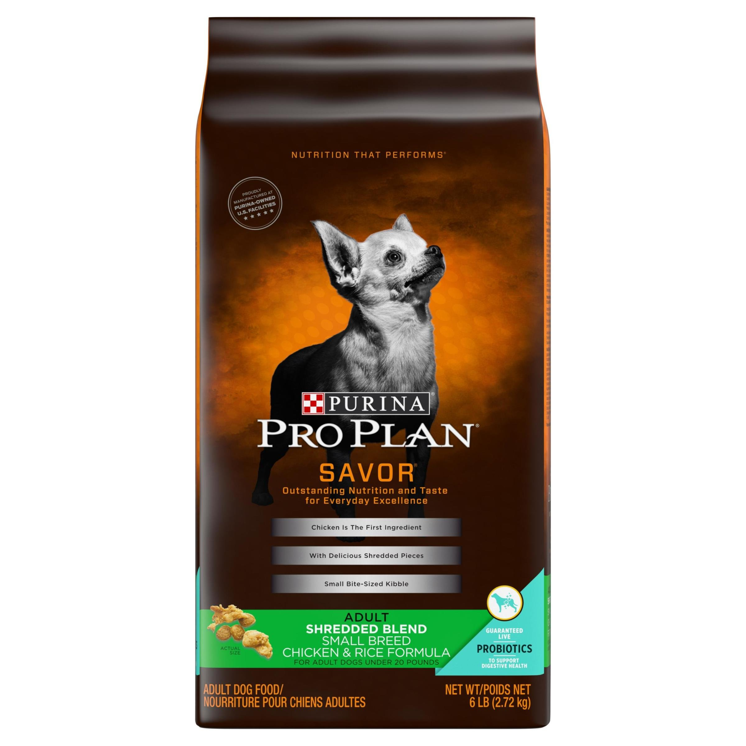 Details about Purina Pro Plan With Probiotics Small Breed Dry Dog Food