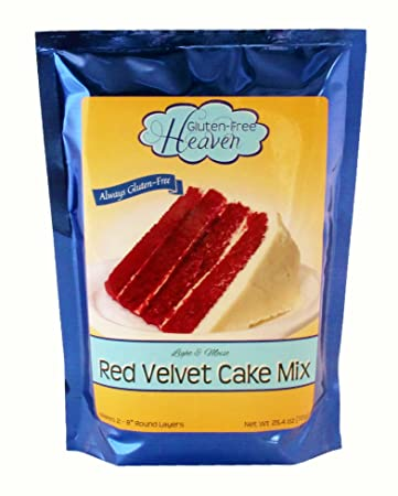 Amazon Com Gluten Free Red Velvet Cake Mix Grocery Gourmet Food