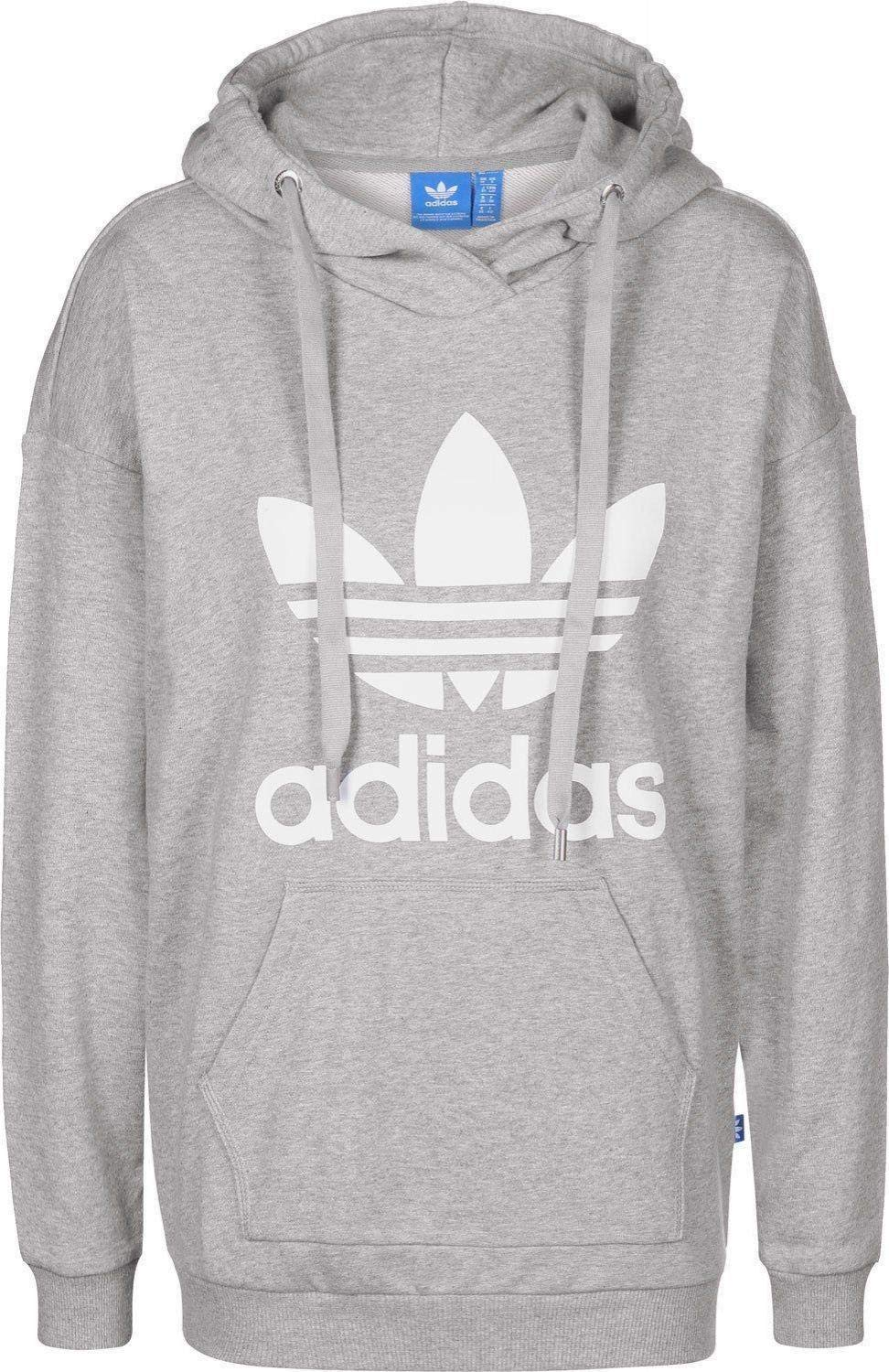 adidas Bp9486 Sweat-Shirt à Capuche Femme  Amazon.fr  Sports et Loisirs c05ddfec224