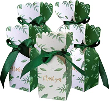 Amazon.com: Lontenrea 50 cajas de caramelos para boda ...