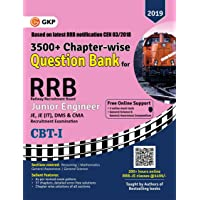 RRB (Railway Recruitment Board) 2019 - Junior Engineer CBT I - 3500+ Chapter-wise Question Bank