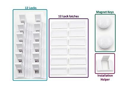 Universal llaves de repuesto para magnético – armarios de seguridad cerraduras | Bono imanes Llaveros |