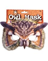Adults Kids Realistic Fake Fur Wise Tawny Owl Pussycat Face Mask Book Week Carnival