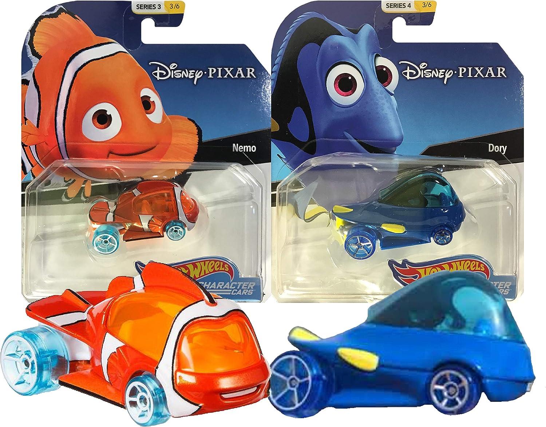 Hot Wheels Disney/Pixar Character Cars Finding Nemo & Dory 2 Pack Bundle: Amazon.es: Juguetes y juegos