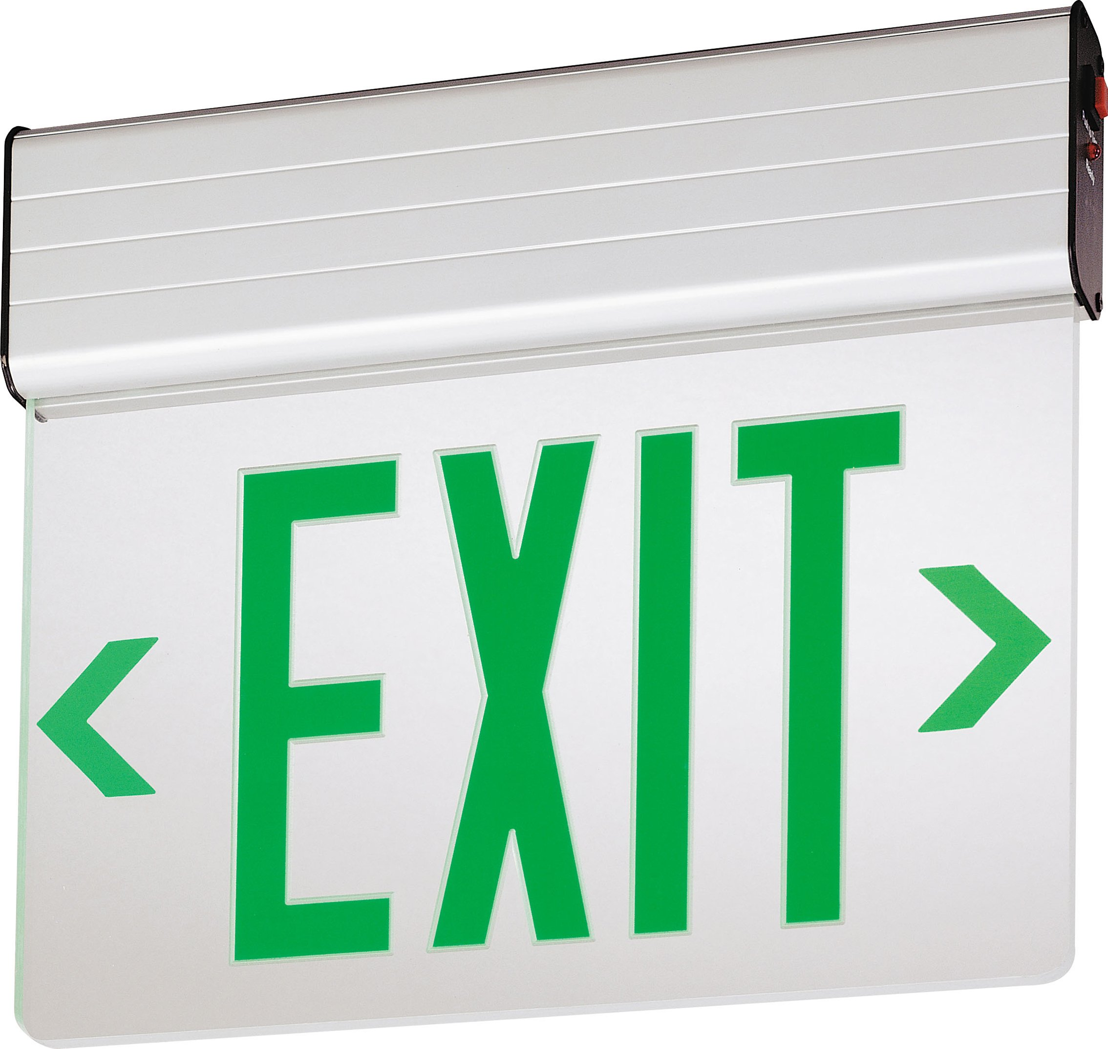 Lithonia Lighting EDG 2 G EL M6 Aluminum LED Emergency Exit Sign by Lithonia Lighting