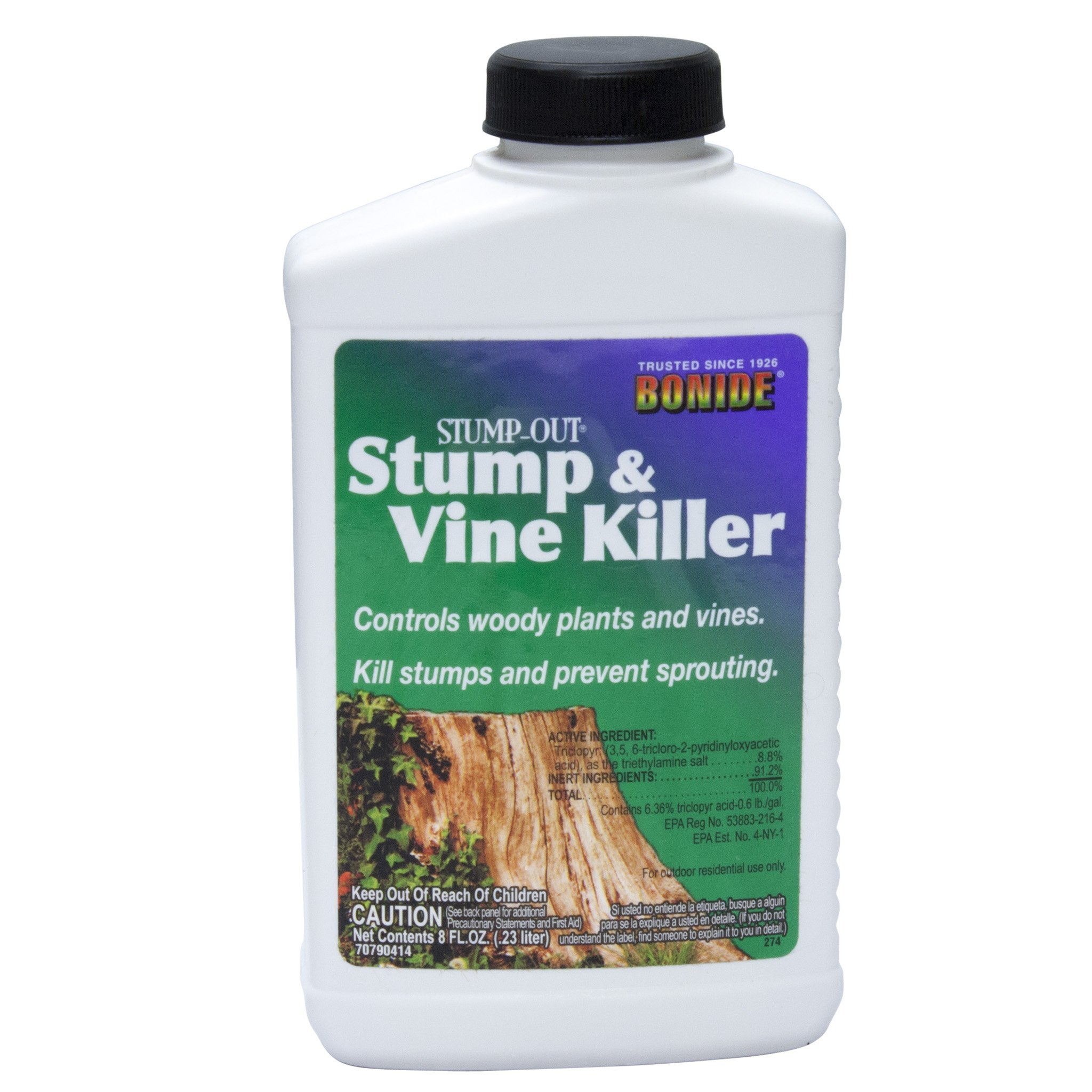 Bonide Vine & Stump Killer With Applicator Concentrate 8 Oz