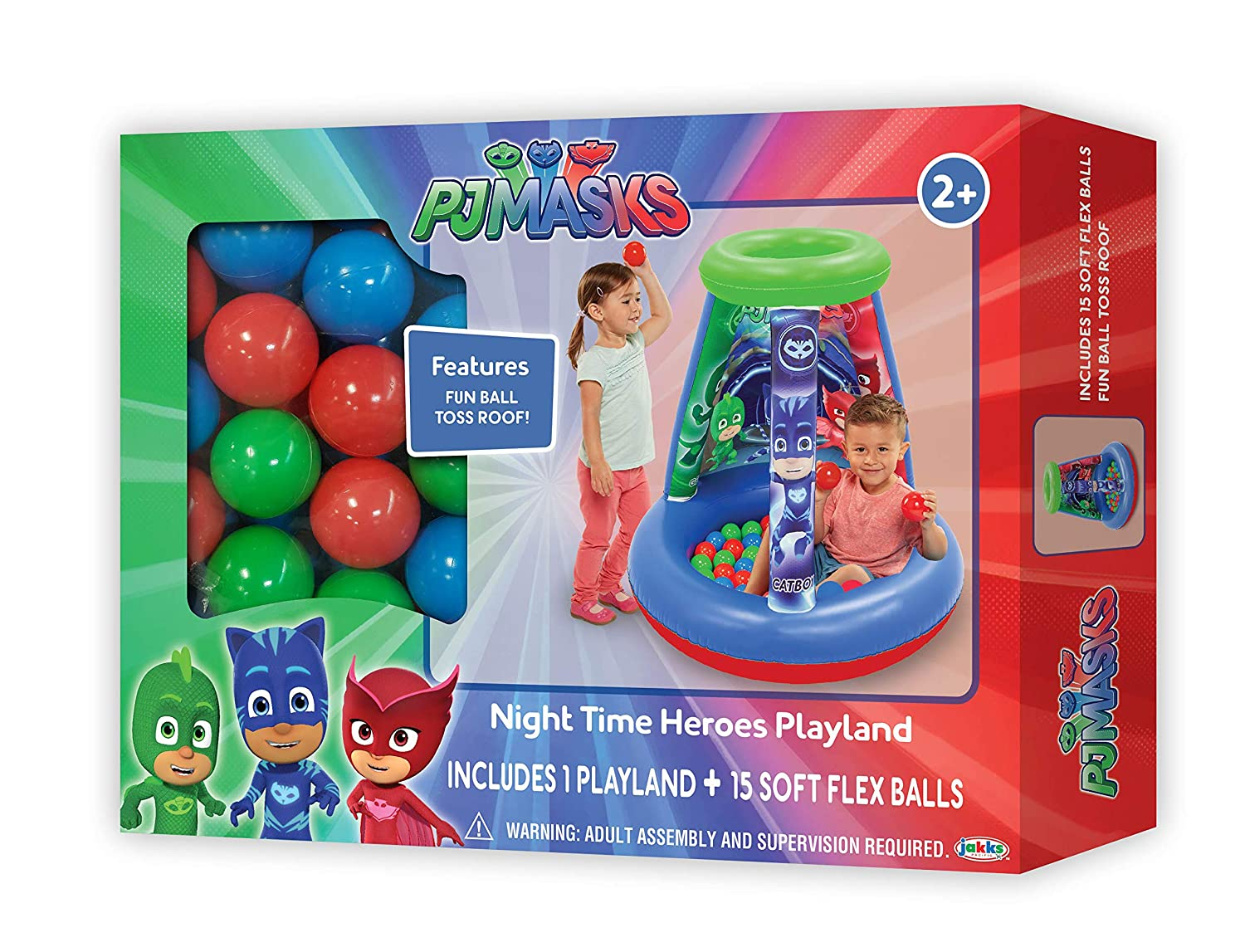 1 Inflatable /& 20 Sof-Flex Balls Minnie Mouse Happy Helpers On Call Ball Pit 37W x 37D x 34H Pink