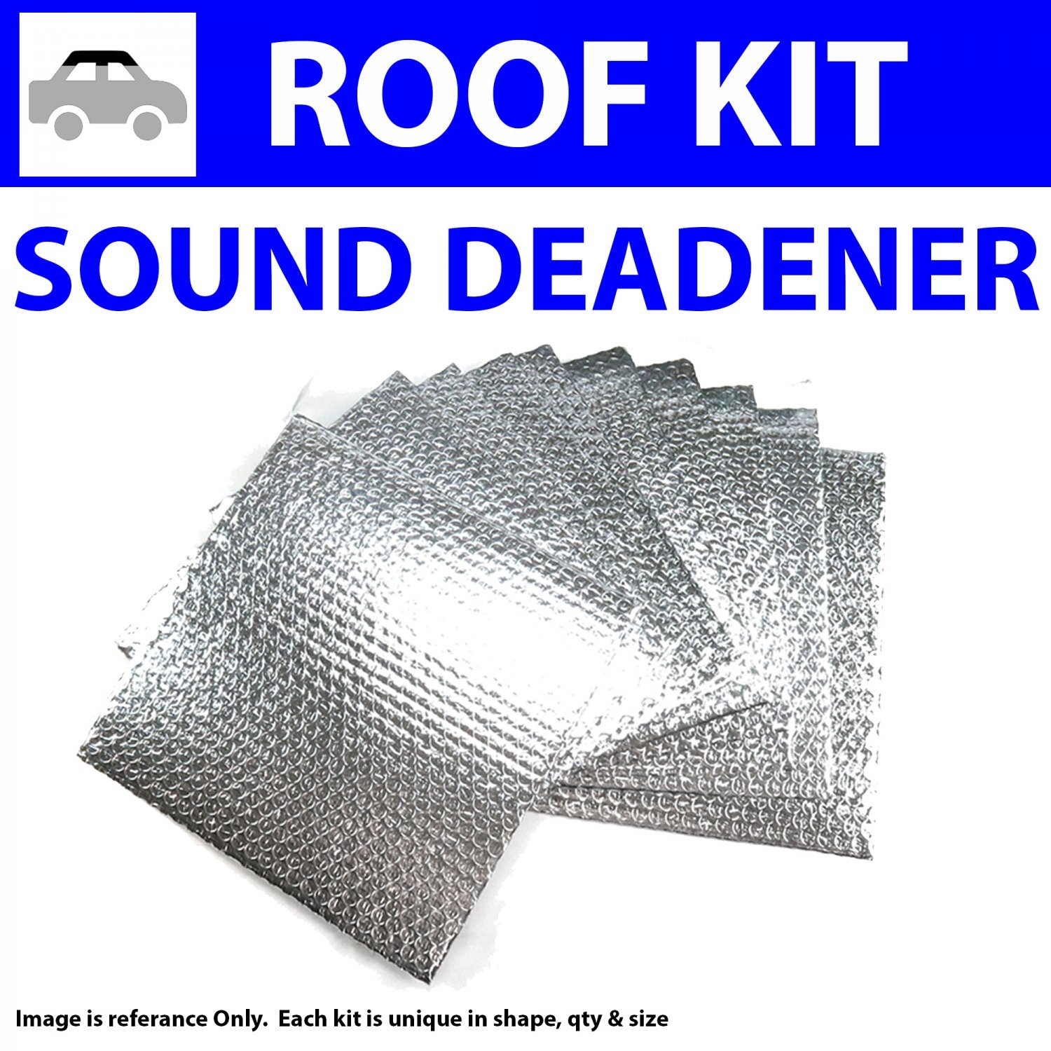 for 61-72 Lincoln ~ Headliner Roof Kit Zirgo 314237 Heat and Sound Deadener