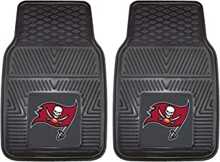 """product image for FANMATS - 8908 NFL Tampa Bay Buccaneers Vinyl Heavy Duty Car Mat,Black,18""""x27"""""""